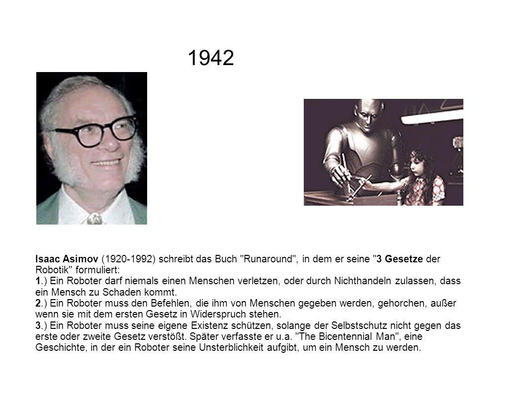 Isaac Asimov (1920-1992) schreibt das Buch