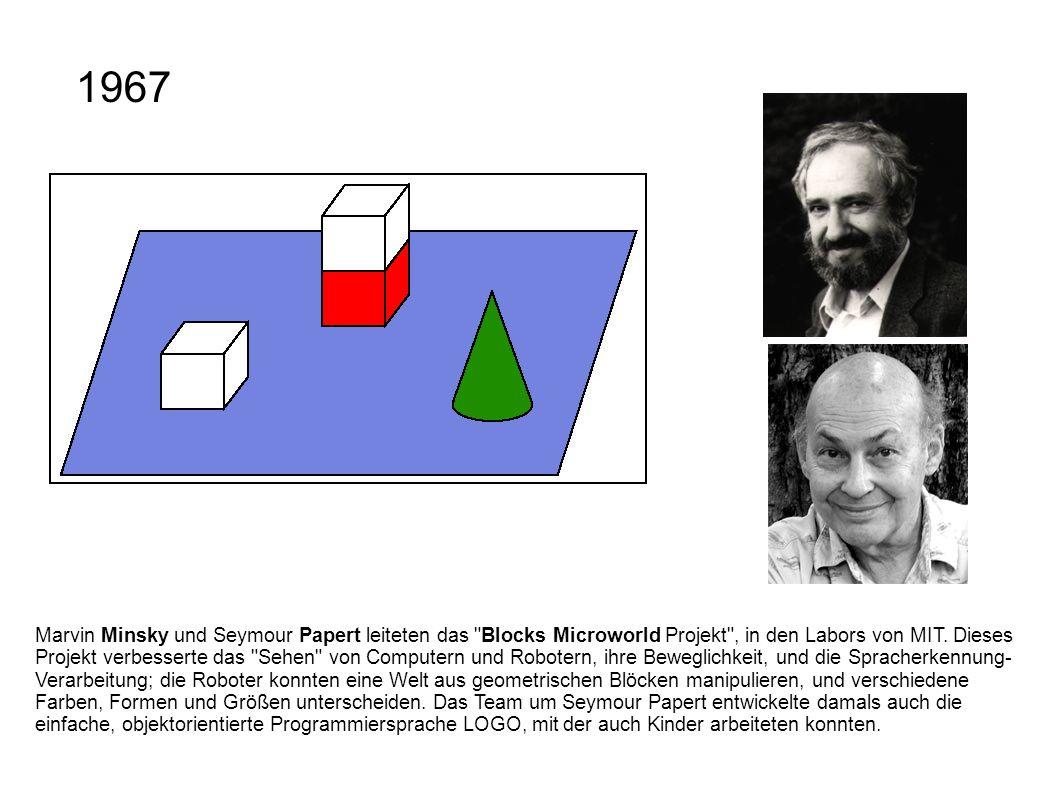 Marvin Minsky und Seymour Papert leiteten das