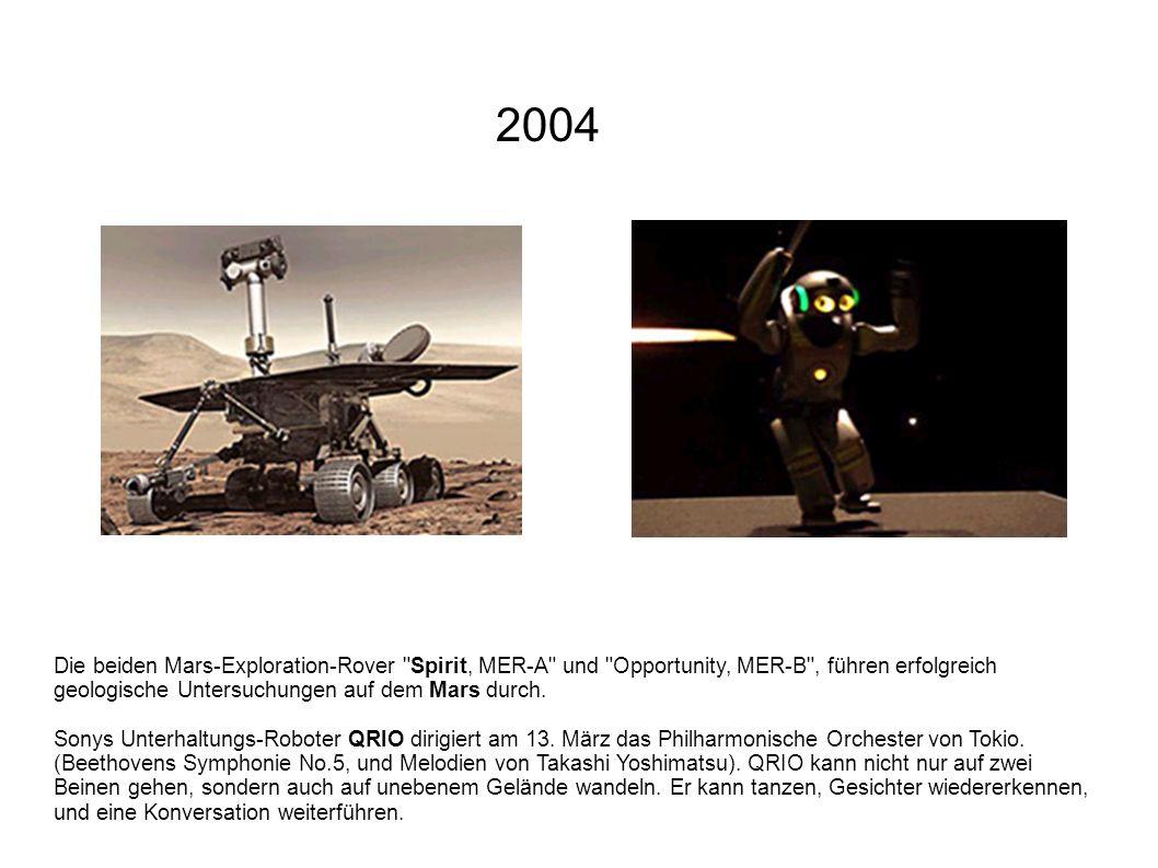 Die beiden Mars-Exploration-Rover