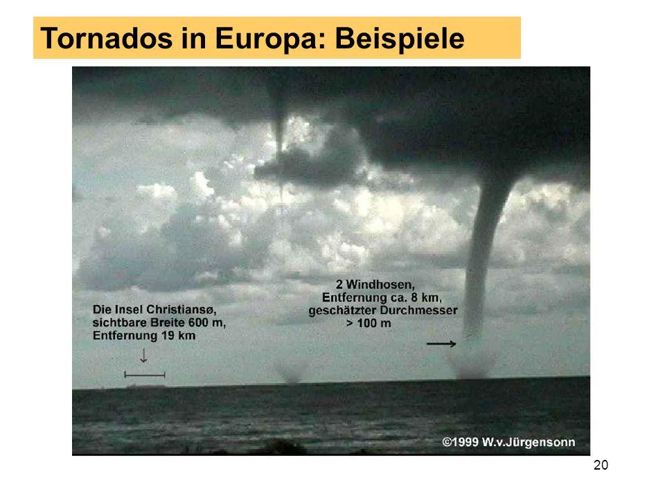19 2. Teil: Gewitterphänomene Insgesamt kommen bei Gewittern diese meteorolo-gischen Einzelphänomene vor: Blitze (gefährlicher als man gemeinhin denkt
