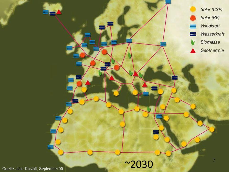 Wasserstofftransport Rohrleitungstransport –Verluste < 0,1 % Stromnetz –Verluste 5-8% Wasserstoff ist speicherbar –Netz besitzt Speicherfunktion –Heutige Erdgaskavernen nutzbar 18