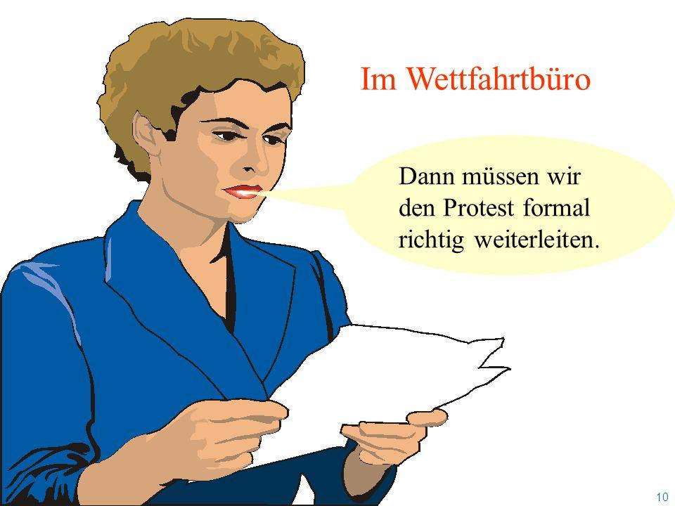 9 2012 Uli Finckh, Breitbrunn Mitteilung der WettfahrtleitungNr: Notice from Race Committee Aushang von bis Posted from to Wettfahrt Klasse Ende Prote