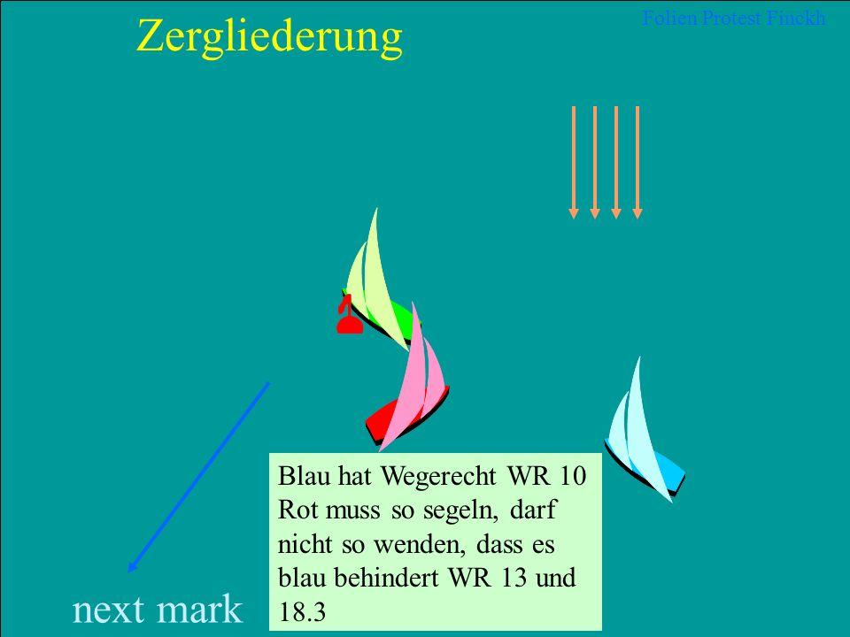 25 2012 Uli Finckh, Breitbrunn Blaubär hat aber die Überlappung von klar achteraus hergestellt. Blaubär war Leeboot und Barbarossa muss sich freihalte