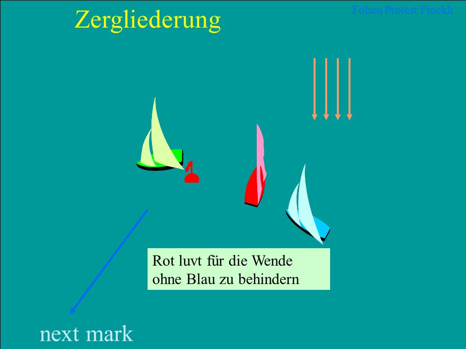 26 2012 Uli Finckh, Breitbrunn next mark Zergliederung Folien Protest Finckh Blau hat Wegerecht WR 10 Rot muss so segeln, darf nicht so wenden, dass e
