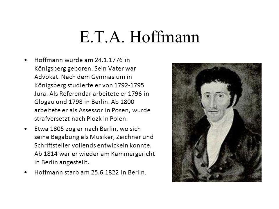 Joseph von Eichendorff Geboren am 10.3.1788 auf Schloß Lubowitz bei Ratibor /Oberschlesien; g estorben am 26.11.1857 Neisse/Schlesien Eichendorff ents
