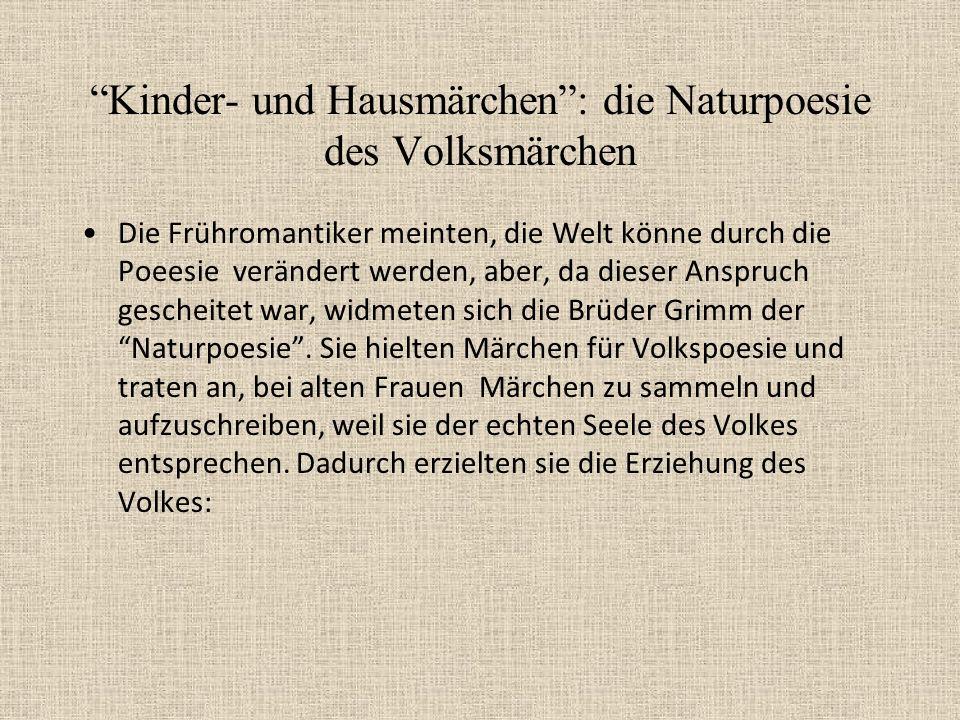 Leben und Werk Jakob und Wilhelm Grimm wurden 1785 und 1786 in Hanau geboren. Sie waren in Paris und Kassel als Bibliothekare und in Göttingen und Ber