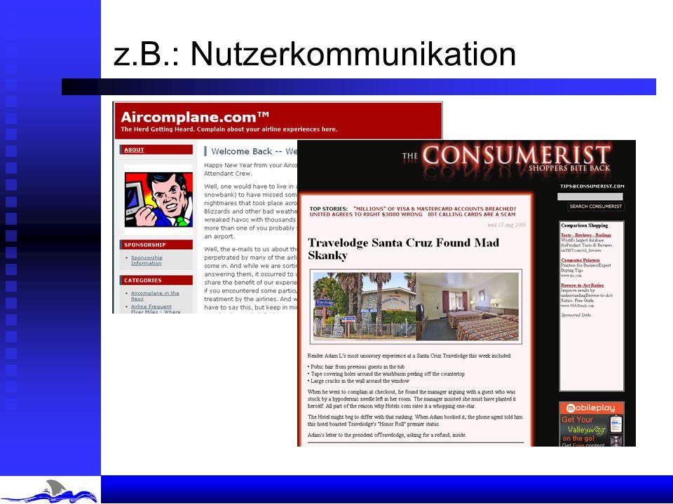 Social Computing Web 1.0Web 2.0 Quelle der Innovation OrganisationenEinzelne Markttreiber Businessmodelle, Produkte, Branding Antworten auf individuel