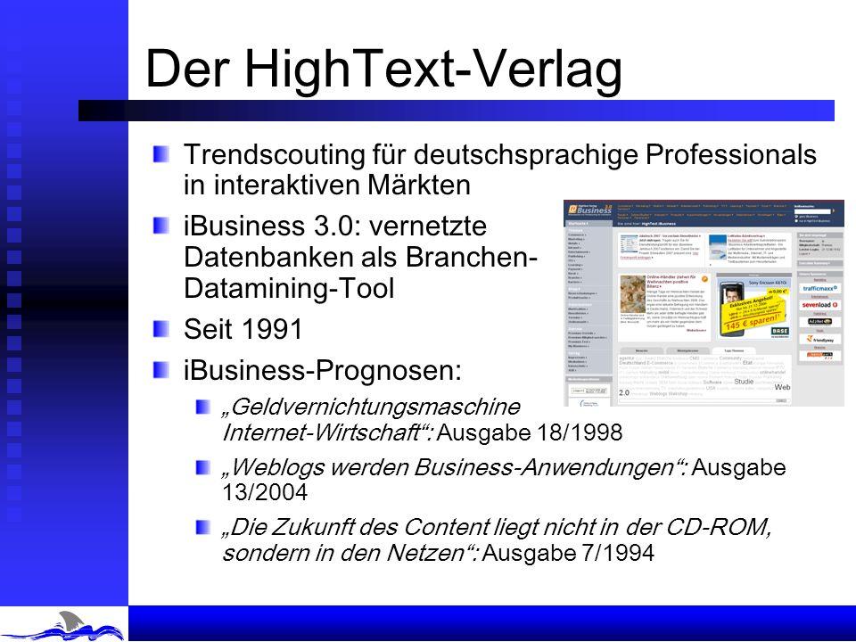 Joachim Graf HighText Verlag