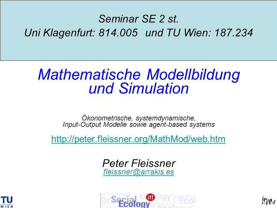 Consumption matrix C: Example Austria 1976 million ATS sectorj=1j=2j=3consum- tion c con-i=1 102798591373324619 sumpti- on i=2 65366271087353156598 matrixi=3 72546960196952173807 wages(sum)14817142169198038 output112200612568543715 Ci=1 0,0091580,01609390,0252573 standari=2 0,0582500,10237150,1606593 dizedi=3 0,0646510,11362150,1783146