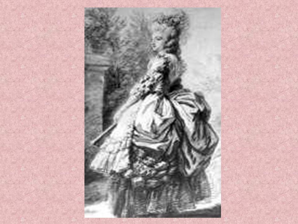 In der Frauenbekleidung hat es zu dieser Zeit schon lange nicht mehr ausgereicht, ein einzelnes Kleid zu tragen. Man musste zeigen, dass man sowohl ei