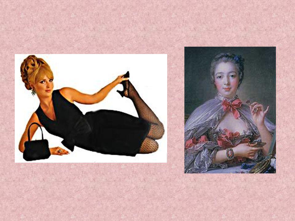 Je nach Mode ändert sich auch die Darstellung des Körpers. Früher waren zum Beispiel geschnürte, düne Taillen sehr modern. Die Mode will nie den