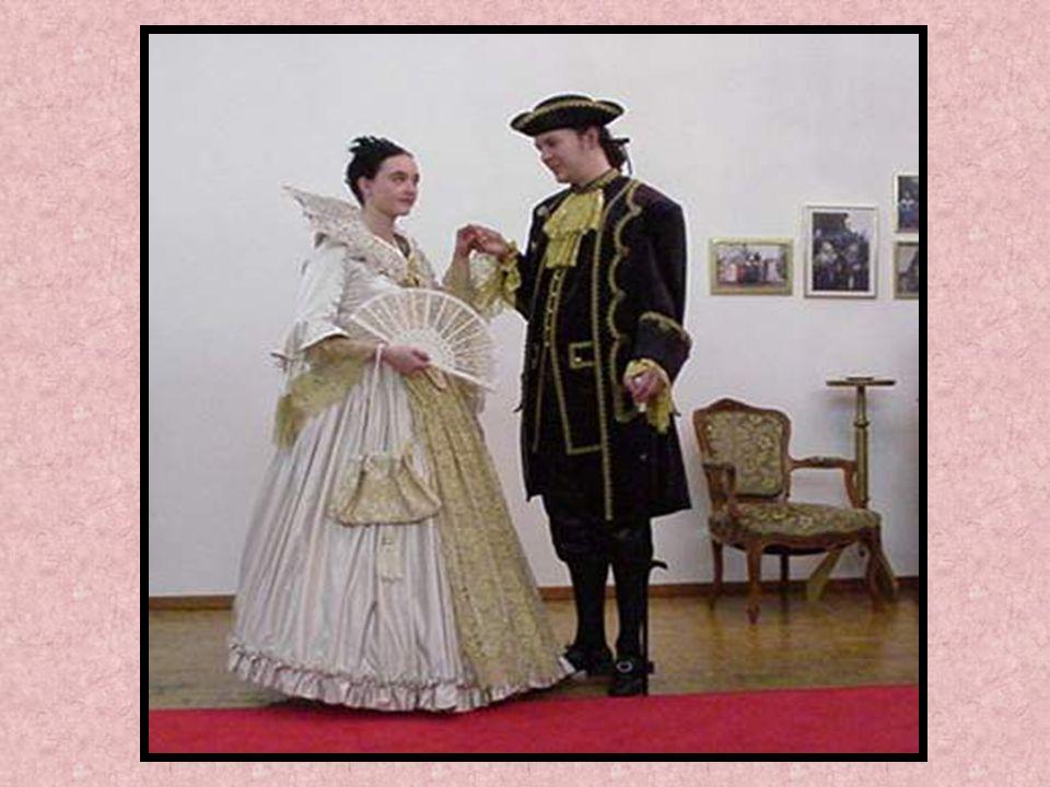 Die anderen Länder haben sich versucht so wie die Franzosen und Holländer zu kleiden und zu benehmen. Die französische Mode beeinflußte nicht nur die