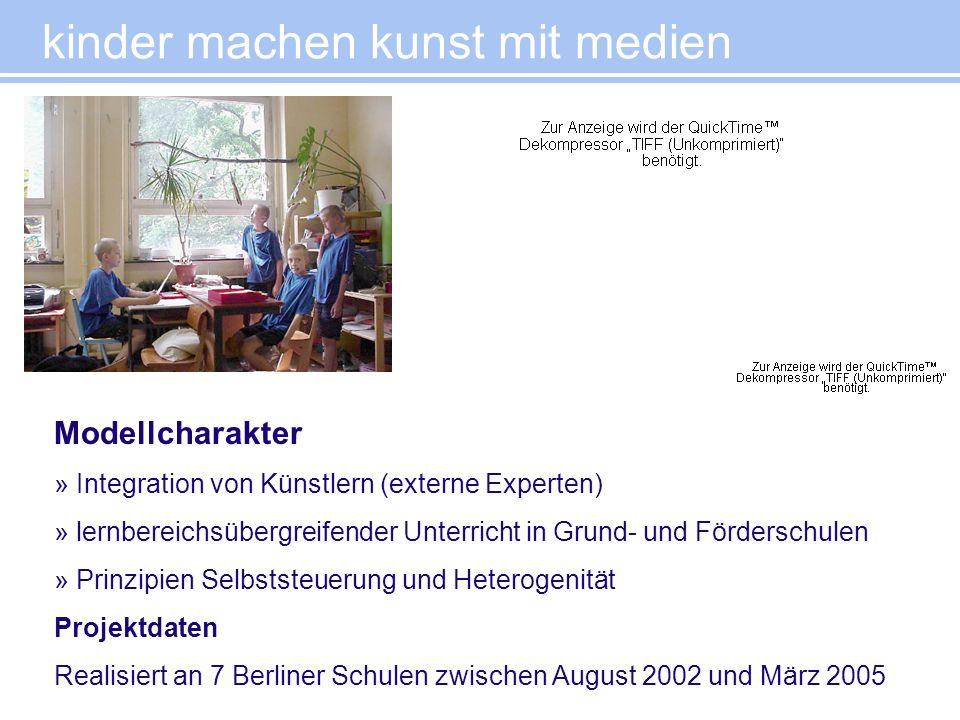 Modellcharakter » Integration von Künstlern (externe Experten) » lernbereichsübergreifender Unterricht in Grund- und Förderschulen » Prinzipien Selbst