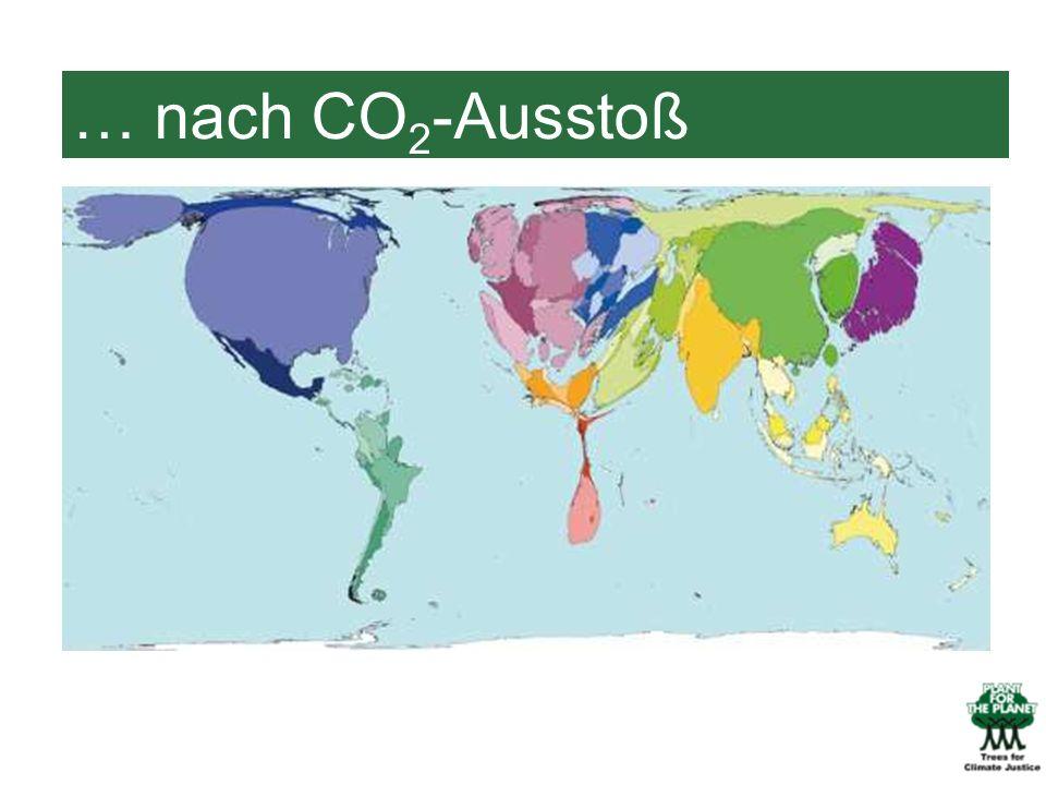 … nach CO 2 -Ausstoß
