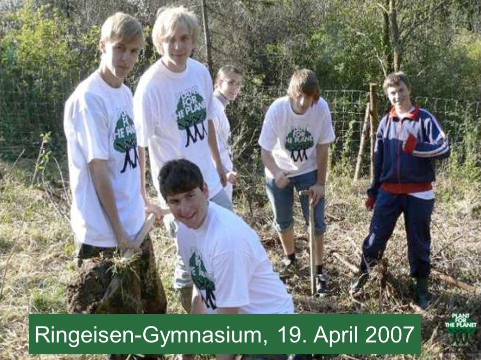 Ringeisen-Gymnasium, 19. April 2007