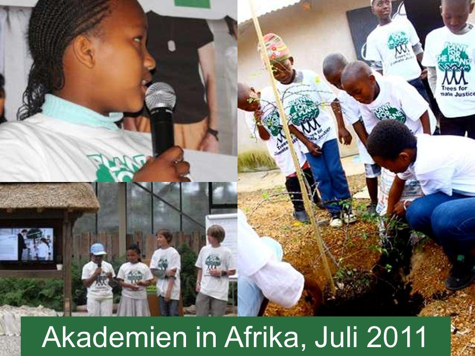 Akademien in Afrika, Juli 2011