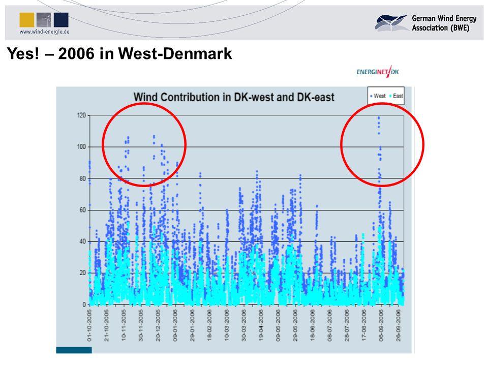 Yes! – 2006 in West-Denmark Quelle: DENA