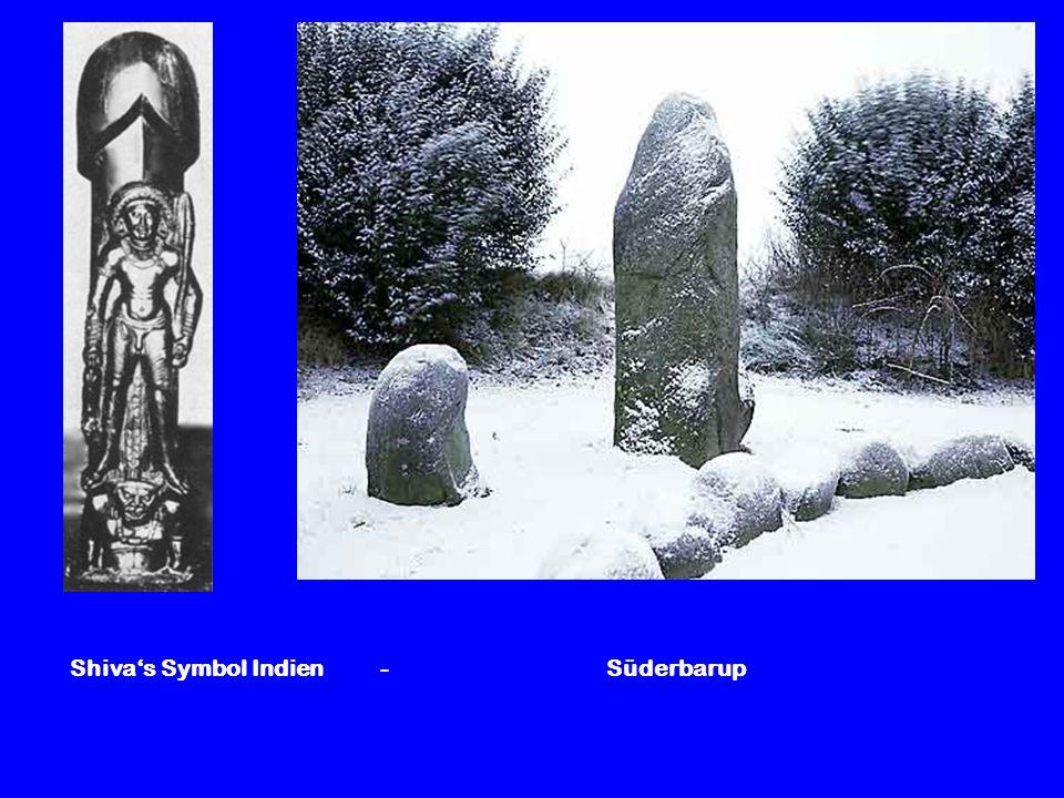 Shivas Symbol Indien - Süderbarup