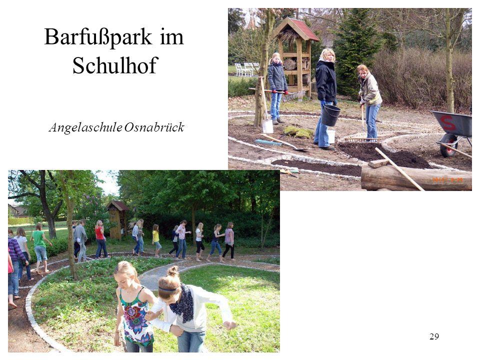 29 Barfußpark im Schulhof Angelaschule Osnabrück