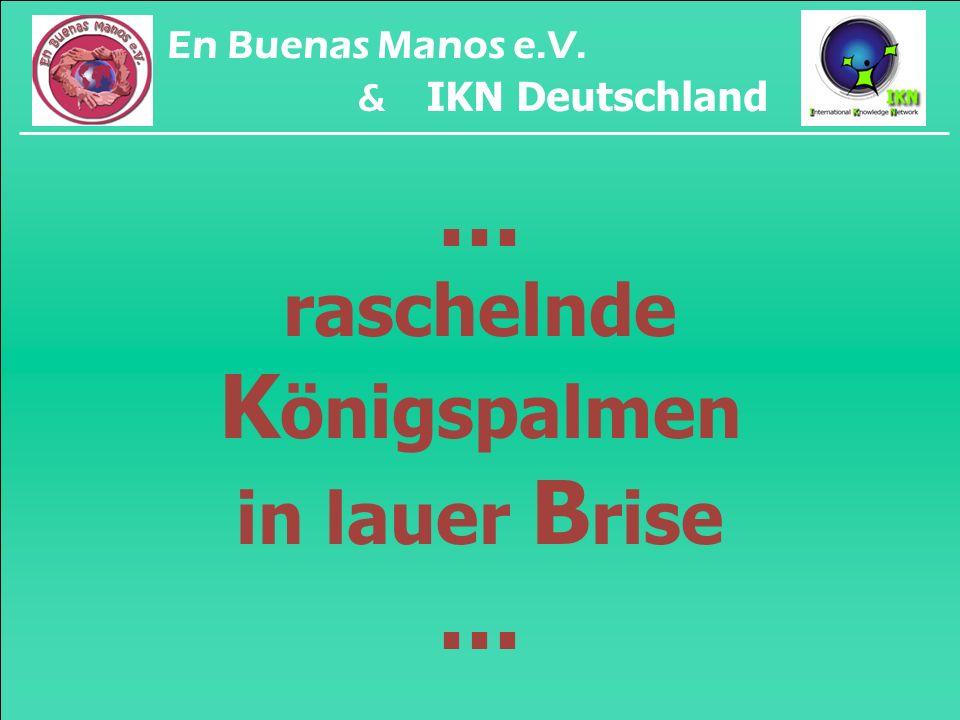 ... majestätische L angusten am H ausriff... En Buenas Manos e.V. & IKN Deutschland