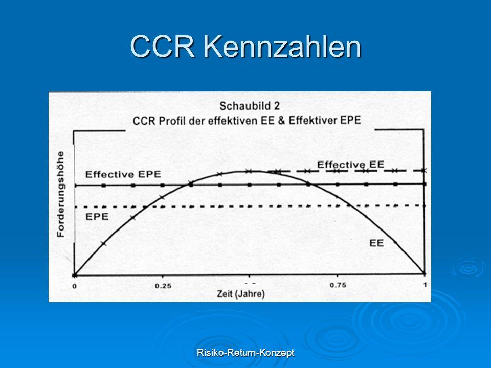 Risiko-Return-Konzept CCR Kennzahlen