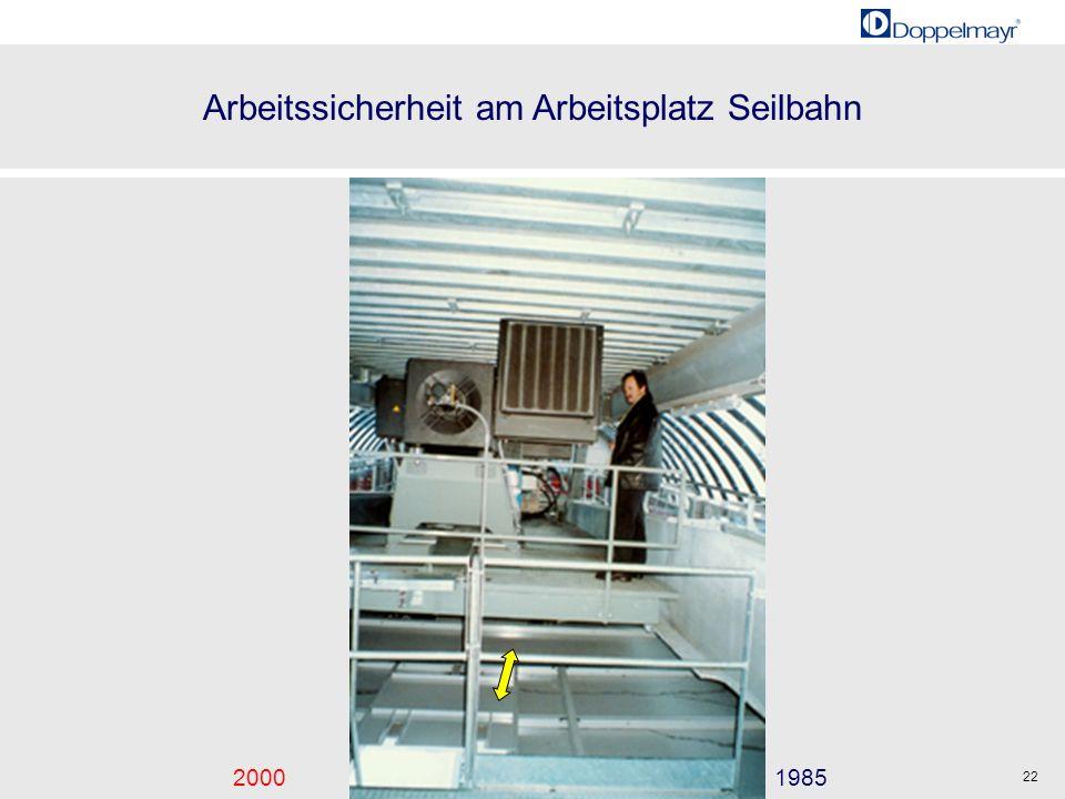Arbeitssicherheit am Arbeitsplatz Seilbahn 20001985 22