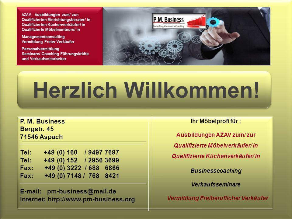 P. M. Business Bergstr.