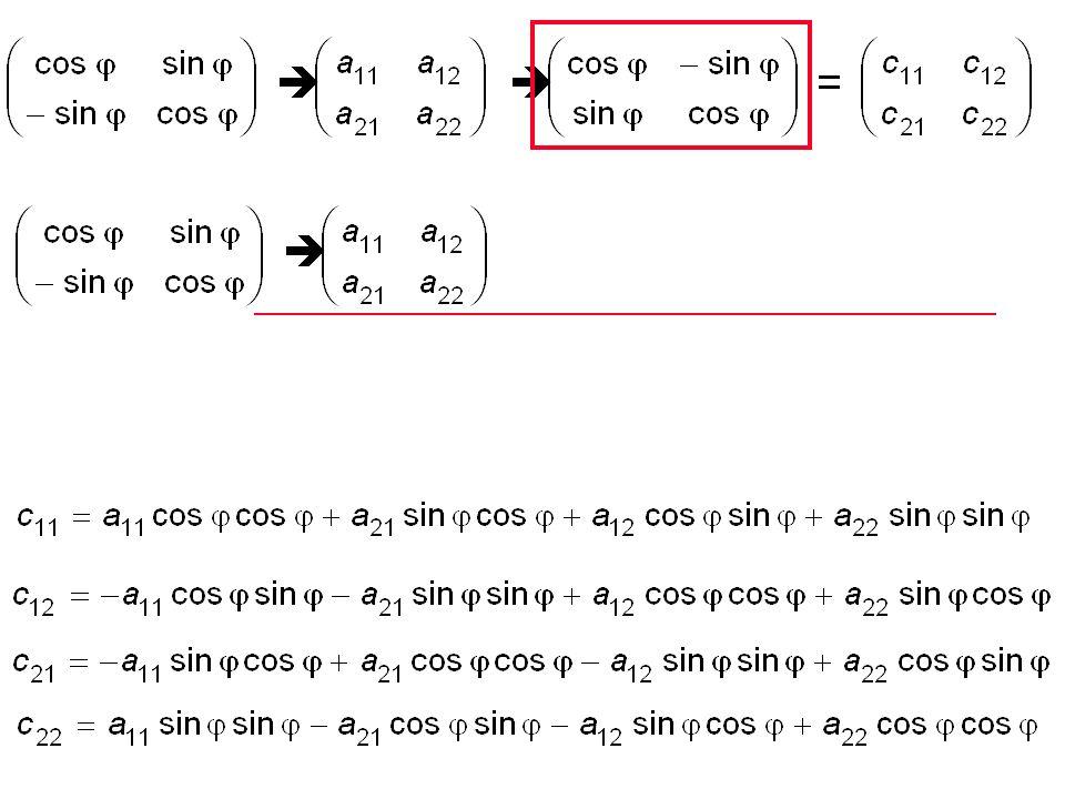 Übungen 16.1 Beweisen Sie anhand der folgenden Gleichung: Bei der Drehung einer symmetrischen 2  2-Matrix bleibt die Spur erhalten 16.2 1 = 5x 2 + 3xy + 7y 2.