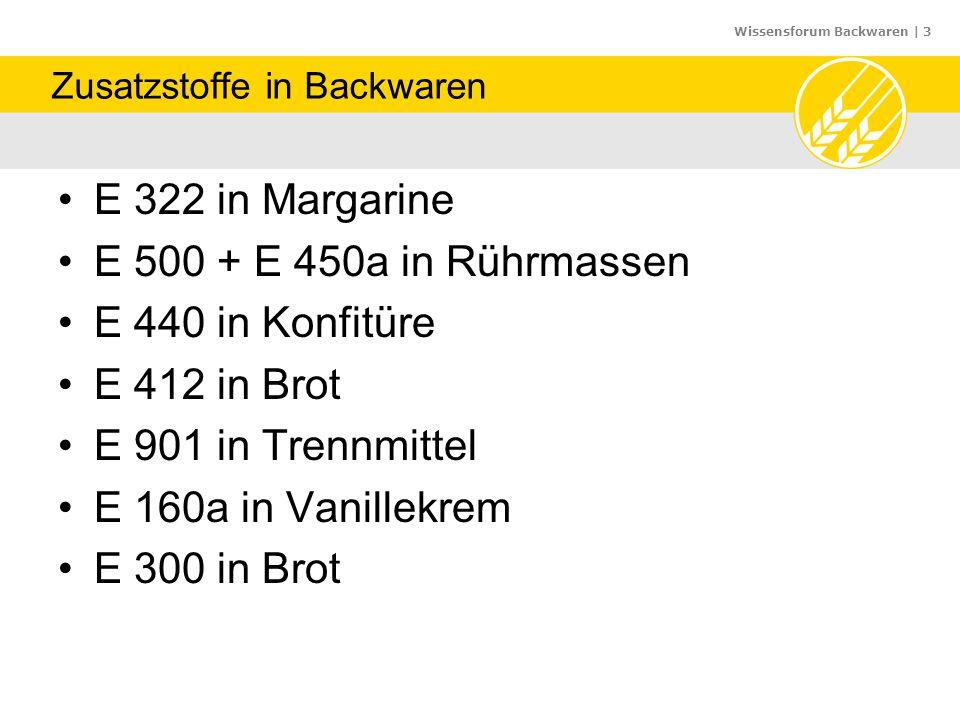"""Wissensforum Backwaren   24 24 """"Backen und Brauen gelingt nicht immer (Volksmund) Geschichte der Backmittel"""