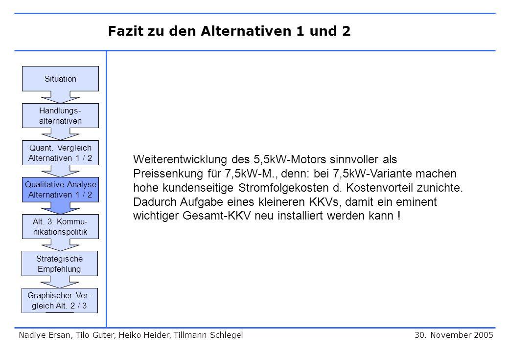 Alternative 3: Kommunikationspolitik 30.