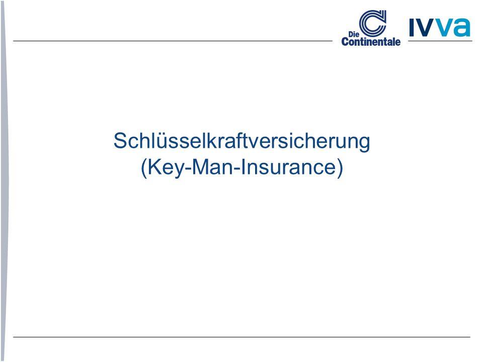 Schlüsselkraftversicherung (Key-Man-Insurance)