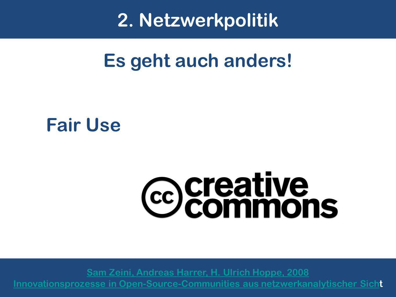 2. Netzwerkpolitik Sam Zeini, Andreas Harrer, H.