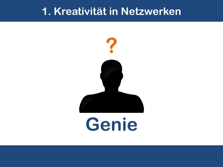 1. Kreativität in Netzwerken Genie