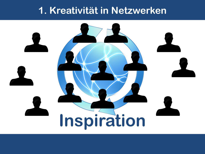 1. Kreativität in Netzwerken Inspiration