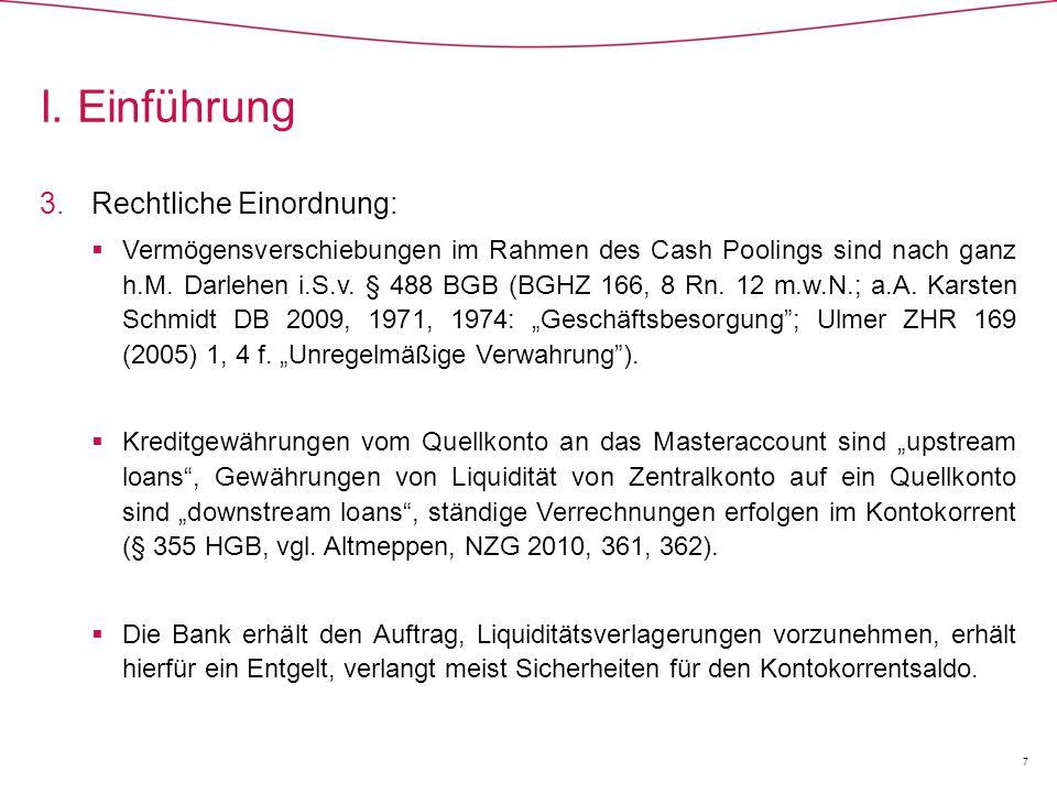1.Vertragskonzern  Die Neuregelung in § 30 Abs.1 S.
