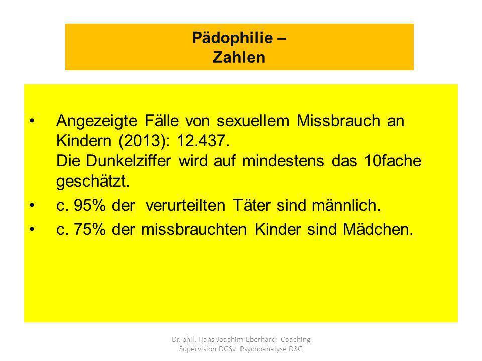 Angezeigte Fälle von sexuellem Missbrauch an Kindern (2013): 12.437.