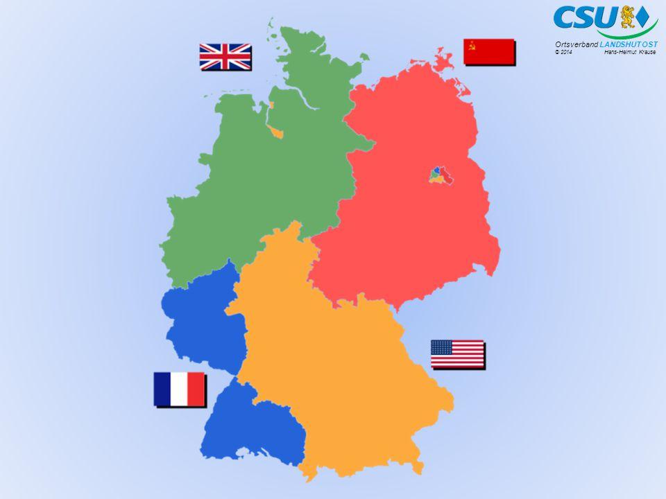 """© 2014 Hans-Helmut Krause Ortsverband LANDSHUT OST """"Ich nenne als weiteres Ziel – und das ist die große Unterscheidung zwischen CDU/CSU und der SPD – die Wiedervereinigung Deutschlands."""