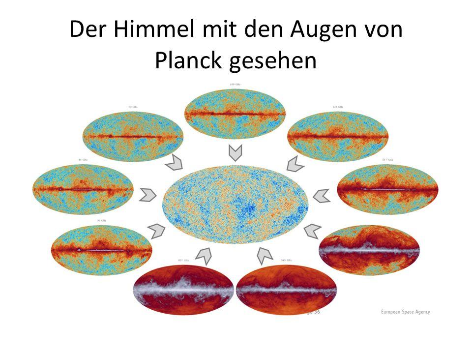 Der Himmel mit den Augen von Planck gesehen