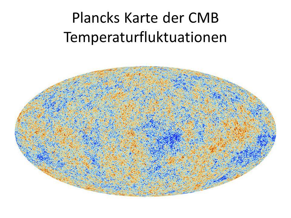 Plancks Karte der CMB Temperaturfluktuationen