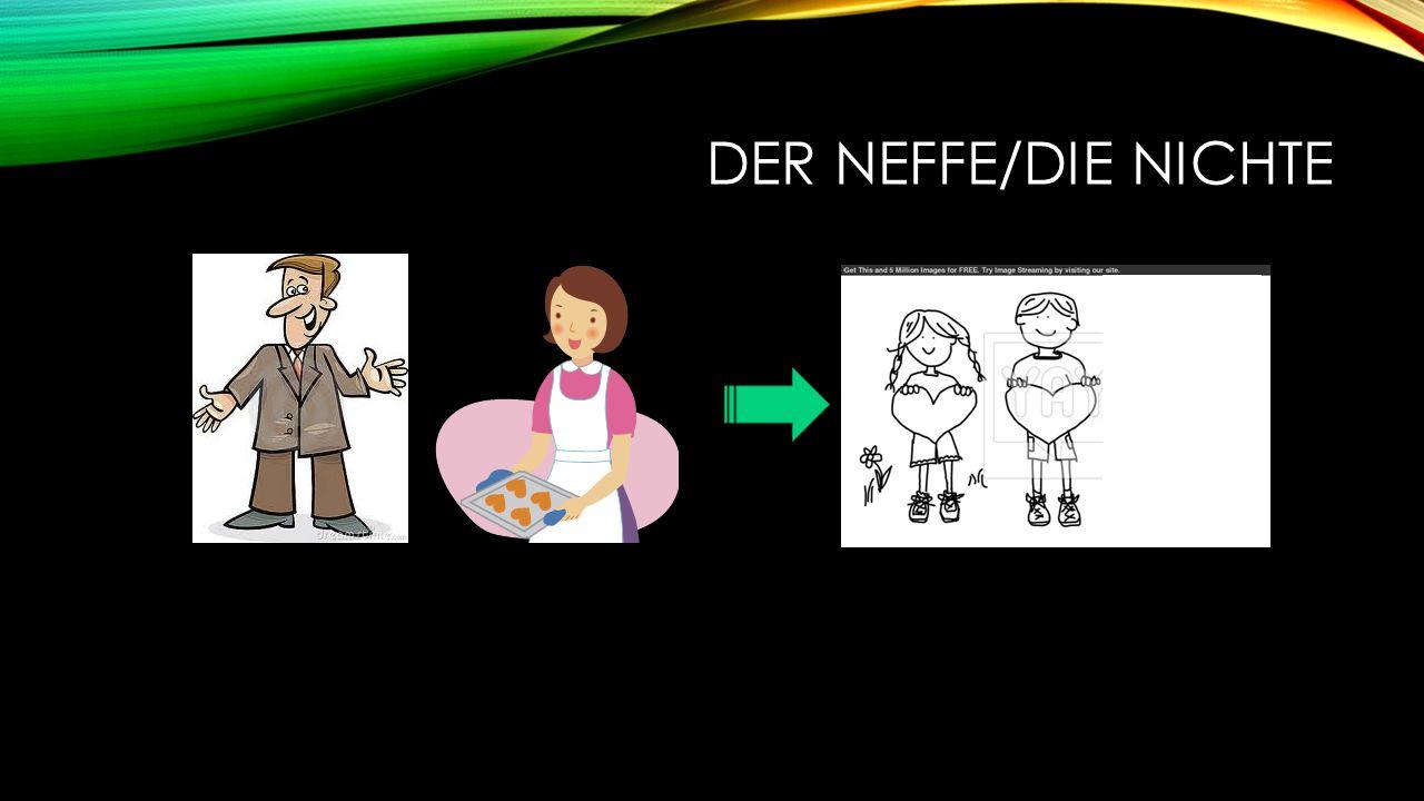 DER NEFFE/DIE NICHTE