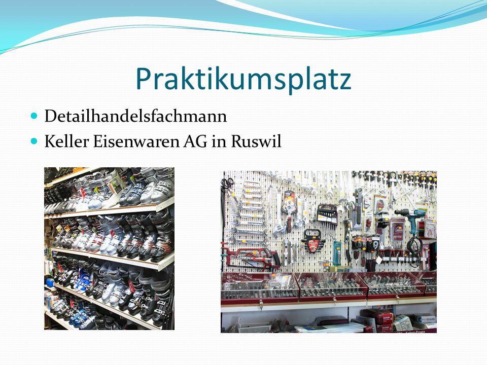 Praktikumsplatz Detailhandelsfachmann Keller Eisenwaren AG in Ruswil