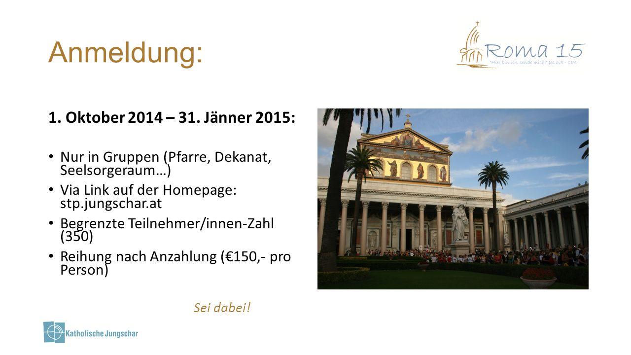 Infos & Leitung: Kath.Jungschar Diözese St.