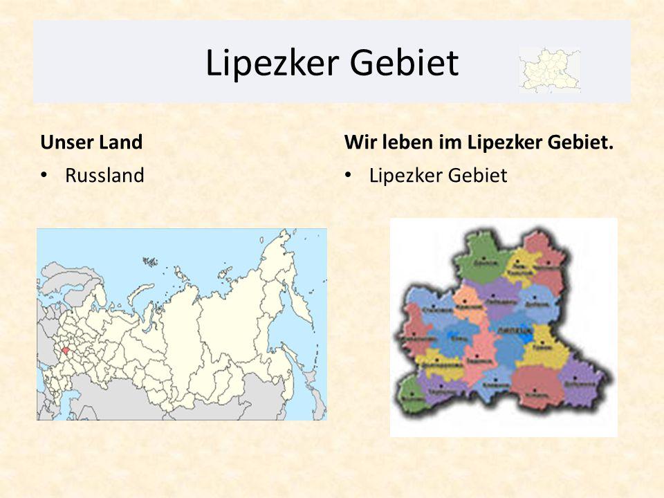 Lipezker Gebiet ist am 6.Januar 1954 gegründet.