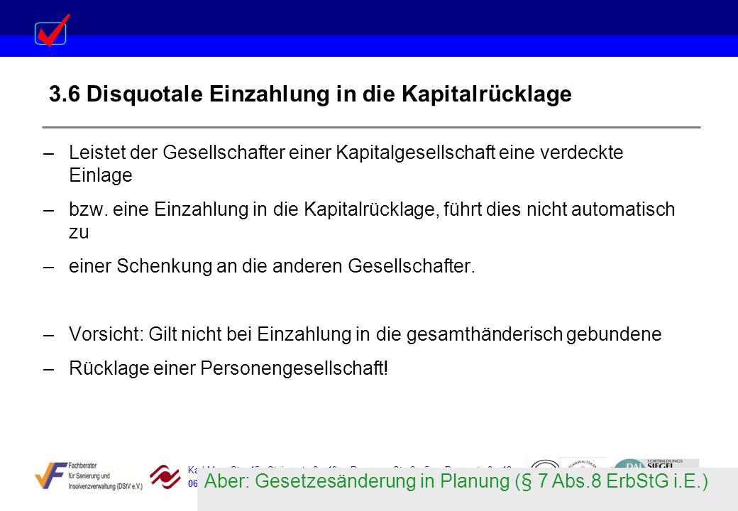 Karl-Marx-Str. 15 Steigerstraße 19 Dessauer Straße 5 Rosenstraße 12 06388 Baasdorf 99096 Erfurt 06366 Köthen 64839 Münster 3.6 Disquotale Einzahlung i