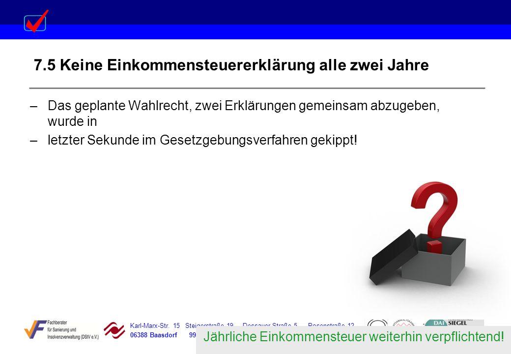 Karl-Marx-Str. 15 Steigerstraße 19 Dessauer Straße 5 Rosenstraße 12 06388 Baasdorf 99096 Erfurt 06366 Köthen 64839 Münster –Das geplante Wahlrecht, zw