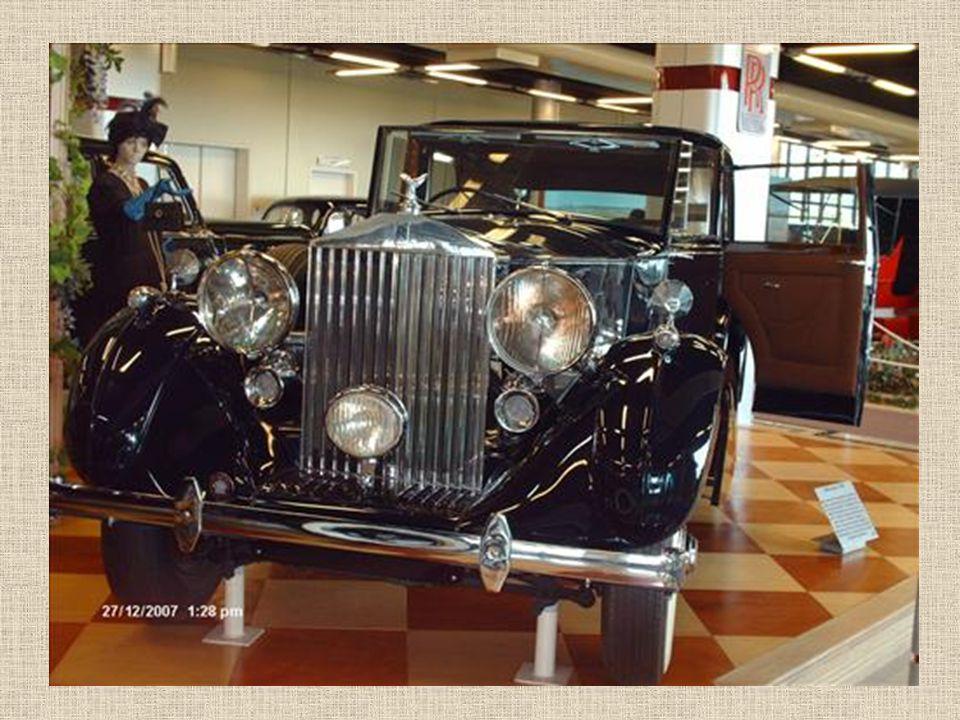 Stand der Rolls Royce