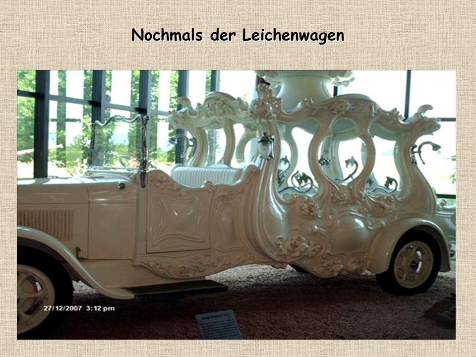 Leichenwagen (Exklusiv für Kinder und Frauen)