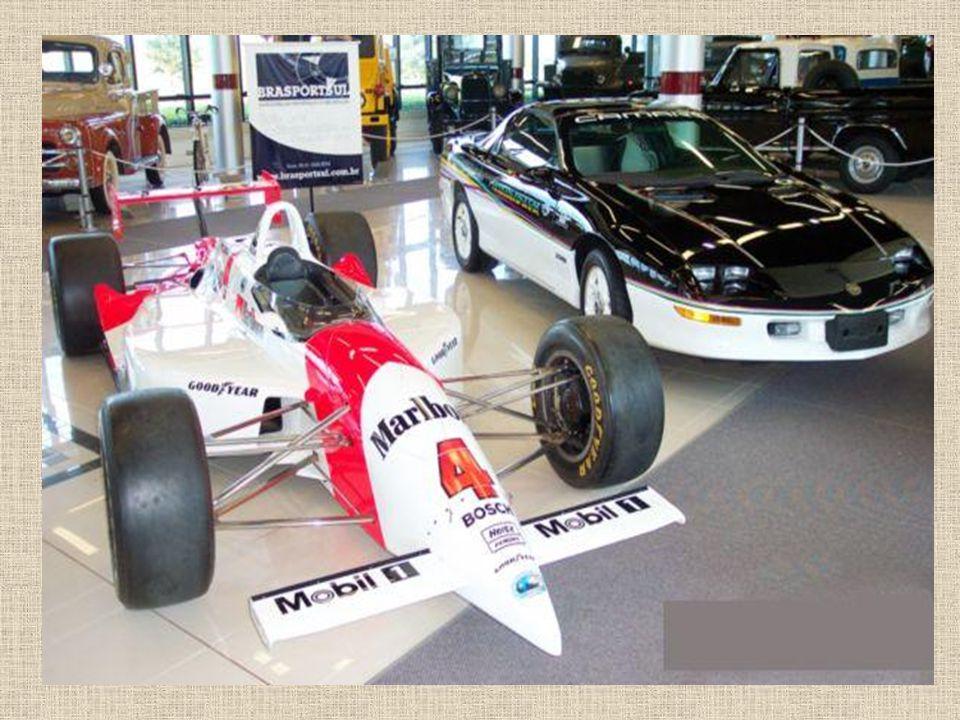 Formel Indy – Mit diesem Auto gewann Emerson Fittipaldi die 500 Meilen von Indianapolis im Jahre 1993