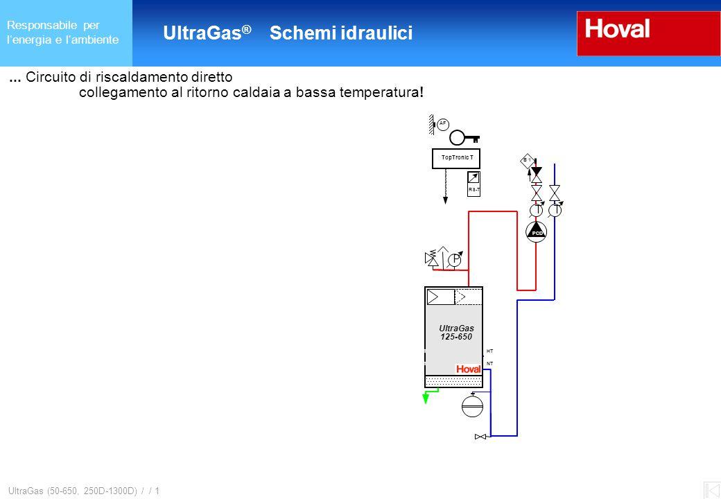 Responsabile per l'energia e l'ambiente UltraGas ® (125-650) und (250D-1300D) UltraGas (50-650, 250D-1300D) / / 1...