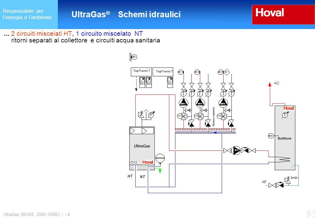 Responsabile per l'energia e l'ambiente UltraGas ® (125-650) und (250D-1300D) UltraGas (50-650, 250D-1300D) / / 5...